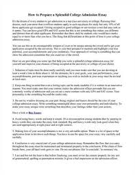 How to start a college admission essay     word