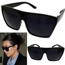 Details about <b>BLACK</b> Oversized Large XL Big Sunglasses Kim ...