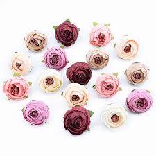 3/5/10pcs 10CM <b>Fake</b> plants stamen decorative flower silk peony ...