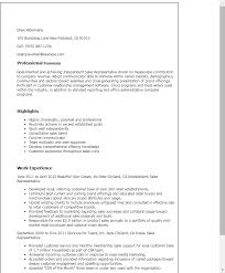 Resume Templates  Independent Sales Representative My Perfect Resume