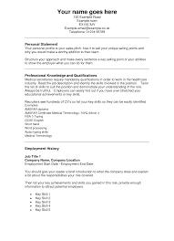 jewelry s resume