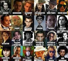 Memorable Johnny Depp Characters - Funny Images and Memes To Fill ... via Relatably.com