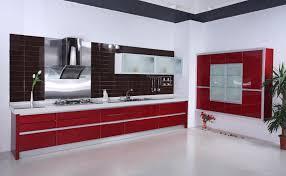red kitchen purple