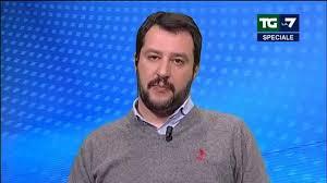 Matteo Salvini ospitate tv gennaio 2015