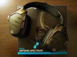 <b>Игровые гарнитуры Logitech G633</b> Arteis Spectrum и G933 Arteis ...