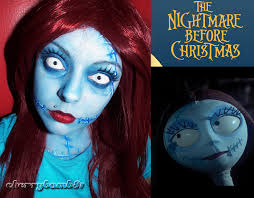 sally from nightmare before makeup google search