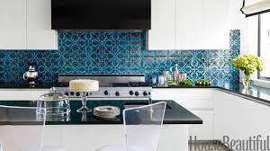 blue kitchen house