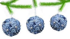 <b>Елочная игрушка</b> своими руками | DIY Christmas <b>toy</b> | Juguete <b>de</b> ...