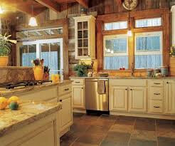 kitchen cabinets cabin interior