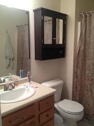 black color small and vintage bathroom cabinet with mirror door over toilet beside vanity for spaces black desk vintage espresso wooden