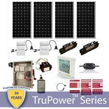 TruPower AC <b>Grid Tie</b> System <b>1200W</b> (<b>Micro</b>-Inverter) - Silicon <b>Solar</b>