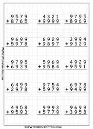 Addition Regrouping / FREE Printable Worksheets – Worksheetfun4 Digit Addition With Regrouping – Carrying – 9 Worksheets