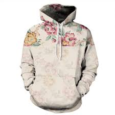 Fashion 3D <b>Sweatshirt</b> Men/<b>Women Hoodies Rose Flower Print</b> ...