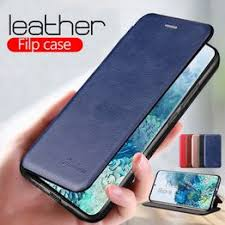 Leather Flip Magnetic Case For samsung Galaxy S20 Ultra ... - Vova