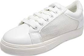 Buy Couch Potato White <b>Mesh Women Sneakers</b> at Amazon.in