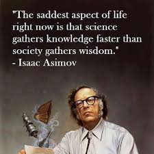 Isaac Asimov - Daily Atheist Quote via Relatably.com