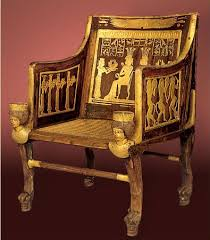 point furniture egypt x: another  king tuts chair another