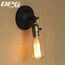 loft wall light indoor antique industrial sconce vintage led lamp american classic for home bedside up cheap sconce lighting