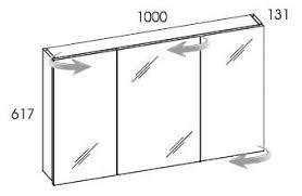 Znalezione obrazy dla zapytania szafka wisząca z lustrem 100 cm