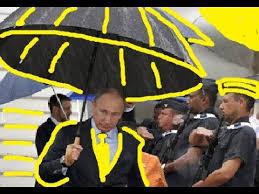 Боевые <b>зонты</b> охраны Путина/ Putin's bodyguards Tactical ...