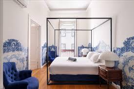 Queen Suite - <b>Portuguese Tile</b> Suite - 1869 Príncipe Real House ...