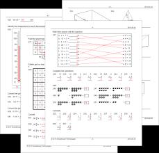 Math Worksheet Maker for Teachers | Math Resource StudioMath Worksheets