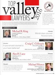TOP VALLEY LAWYERS 2016