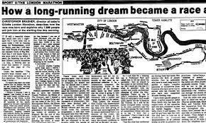 「1981, first london marathon」の画像検索結果