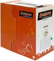 <b>Кабель</b> в бухте <b>Exegate FTP</b> 5e (EX138967RUS), Grey <b>кабель</b> ...