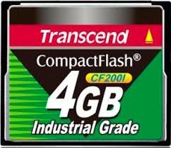 <b>Карта памяти 4GB</b> Transcend TS4GCF200I купить в Москве, цена ...