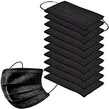 <b>50pcs</b> Disposable <b>Face</b> Másk With <b>3 Layer</b> Filter With Elastic ...