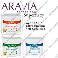 NEW <b>Aravia Professional</b> Sugar paste Superflexy Ultra <b>Enzyme</b> ...