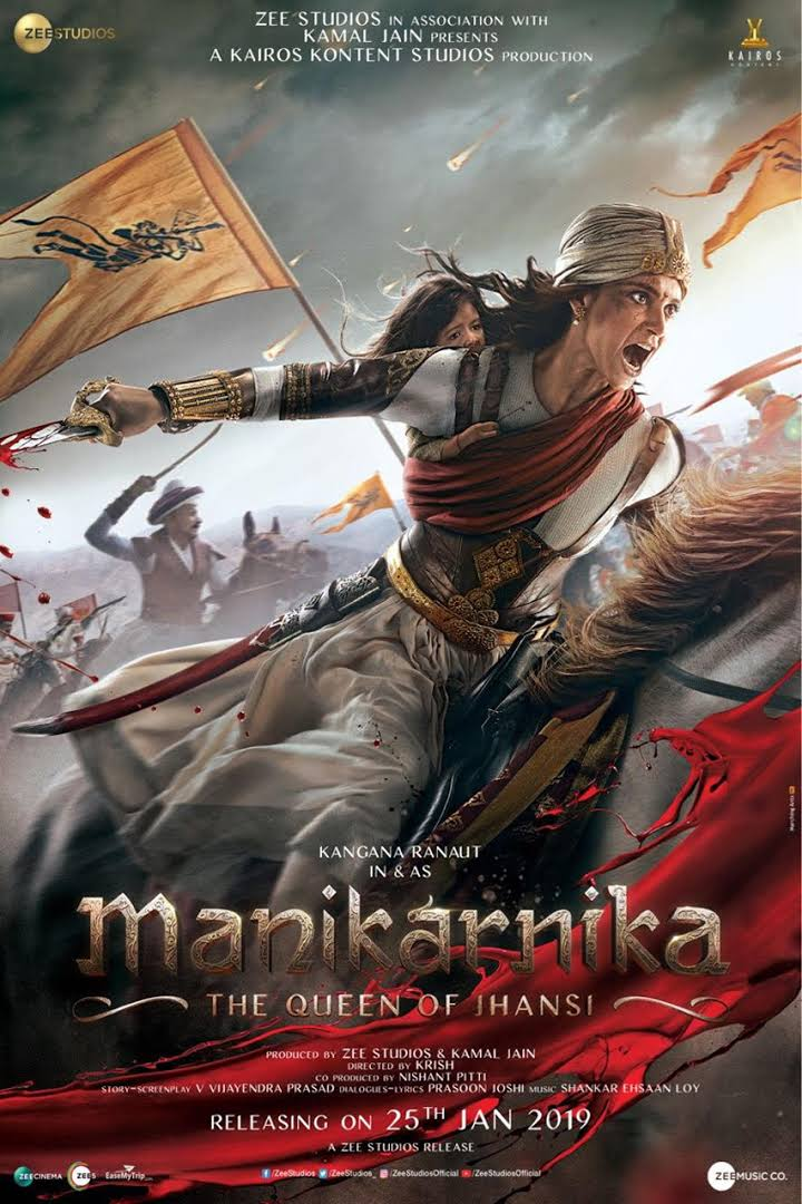 Manikarnika: The Queen of Jhansi (2019) Hindi