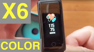 <b>X6</b> COLOR Fitness/Health Smartband: Unboxing & Review - YouTube