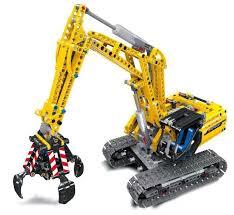 <b>LELE 38014 Technic 720Pcs</b> Excavator 2 In 1 Engineering Tracked ...