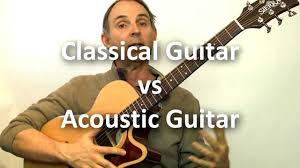 Classical <b>Guitar</b> vs <b>Acoustic Guitar</b> - What's the Difference and ...