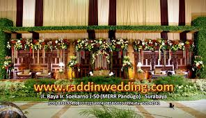 dekorasi pelaminan adat jawa: Jasa dekorasi pernikahan adat jawa di surabaya raddin wedding