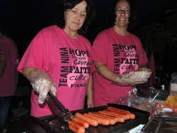 lawton constitution miles relay for life takes over bentley gardens