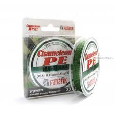 Купить Шнур плетеный <b>Fanatik Chameleon PE</b> X4 100 м / цвет: Ил ...