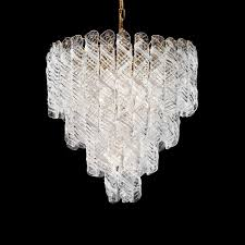 Lampadario Murano Rosa : Dedalo lampadario vintage in vetro murano