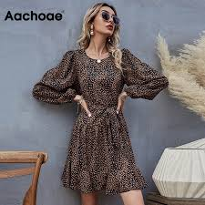 Best Offers for retro dress <b>leopard</b> brands and get free shipping - a34