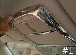 Тюнинг Infiniti Q50 <b>Окантовка плафона освещения салона</b>, хром ...