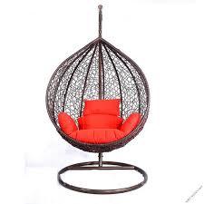 Подвесное <b>кресло из искусственного</b> ротанга | Мир дачника