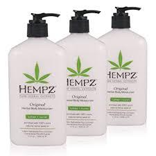 Hempz Original Herbal Body Moisturizer, 17 oz, Pack ... - Amazon.com