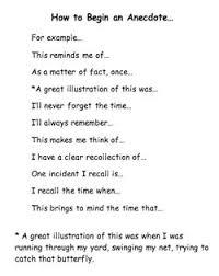 types essays