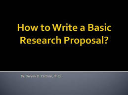 Writing a research proposal   Elefan  i A research proposal and research report are similarly organized