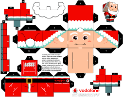 the christmas clones de cubeecraft toys navidad and paper blog paper toy papertoys ccs miss claus template preview the christmas clones by cubeecraft x