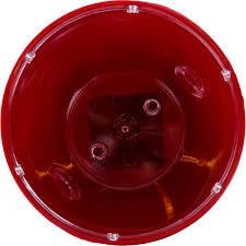 <b>Кашпо</b> «<b>Грейс</b>», 15 см, цвет красный в Москве – купить по низкой ...