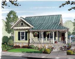 House Plan at FamilyHomePlans comBungalow Cottage Country House Plan Elevation