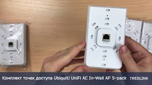 Мини-обзор: Комплект точек доступа <b>Ubiquiti UniFi AC</b> In-Wall <b>AP</b> ...